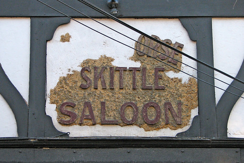 black hORSE SKITTLE SALOON