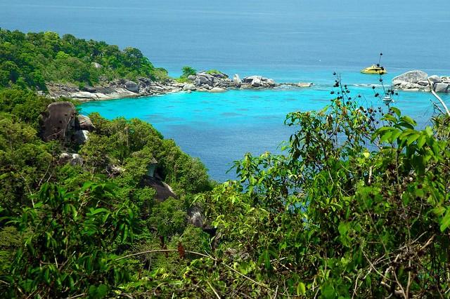 Parque Nacional de las Islas Similan, Mar de Andamán, Tailandia