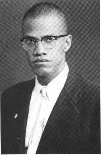 Malcolm X as a young man during the early 1950s when he first began to represent the Nation of Islam. February 21 marks the 45th anniversary of his assassination. by Pan-African News Wire File Photos