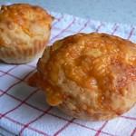Welsh rarebit muffins