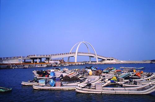 O086王功漁港生態景觀橋