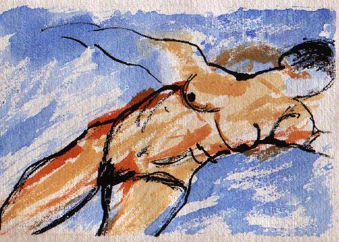 Life Drawing postcard 3