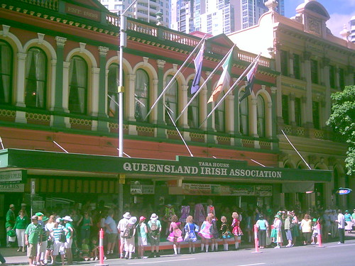 St Patrick's Day Parade, Brisbane, Queensland, Australia 070317