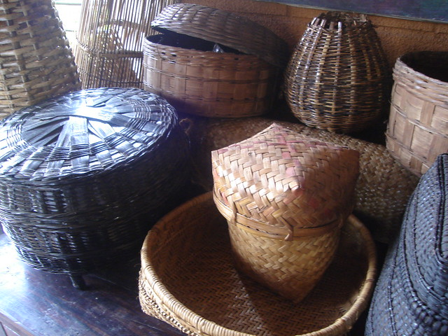 Bamboo craft from Goa, Benaulim 2007