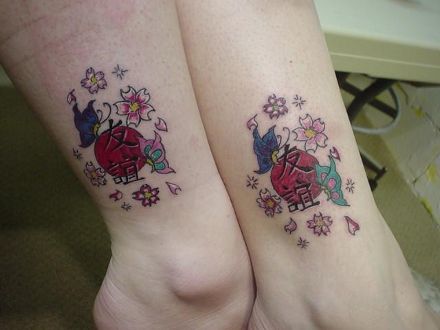 """Friendship"" tattoos"