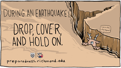 Earthquake - Drop Cover and Hold On