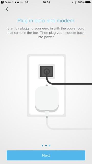 eero iOS App - Setup - #4