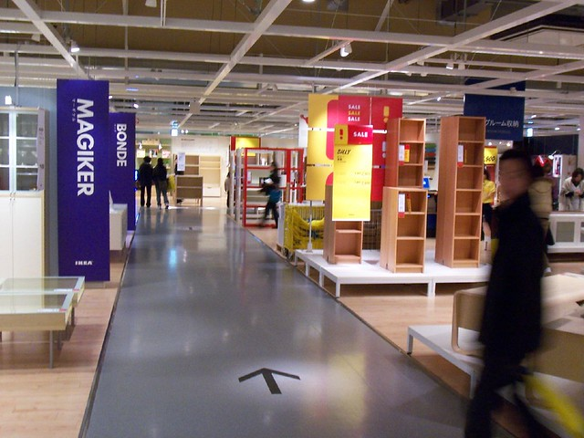 Inside ikea a gallery on flickr - Store interieur ikea ...