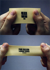 Business card for personal trainer