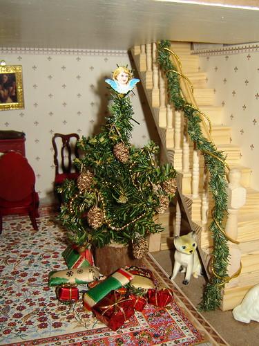 Joulu nukketalossa by Anna Amnell