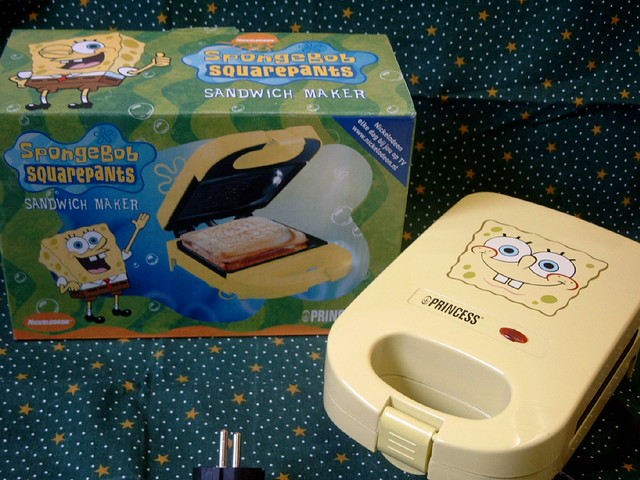 Spongebob sandwich maker ^^ | Flickr - Photo Sharing!