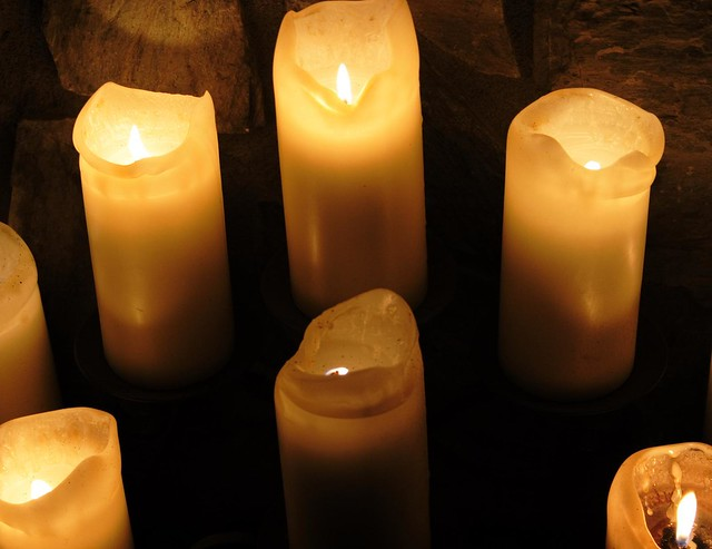 Candles All Aglow | Flickr - Photo Sharing!
