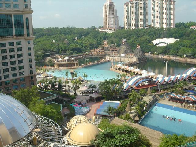 Sunway Lagoon in Malaysia!