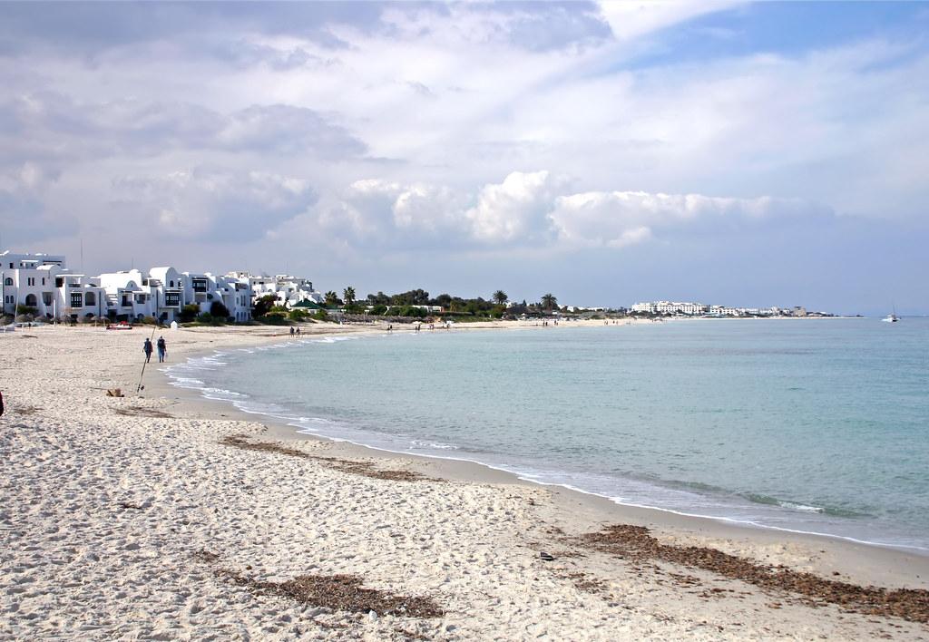 Пляж Порт Эль-Кантауи Тунис