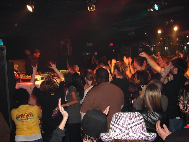 Techno in Detroit by CC user technochick on Flickr