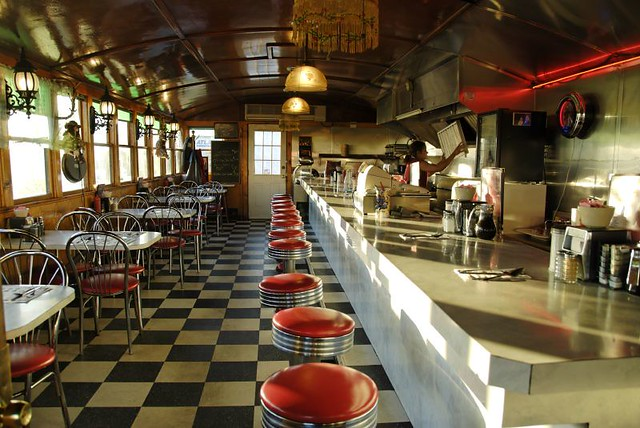 Diner interiors a gallery on flickr