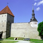 Medieval Walled City - Tallinn, Estonia