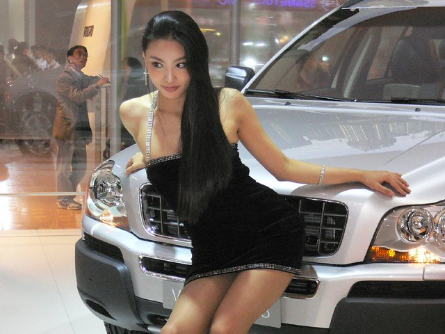 Volvo ˠ�싱걸 Racing Girl Flickr Photo Sharing