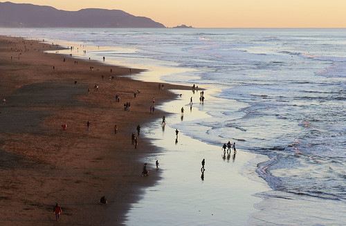 ocean sunset pacific oceanbeach