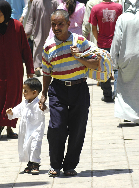 Sortie d'école à Marrakech