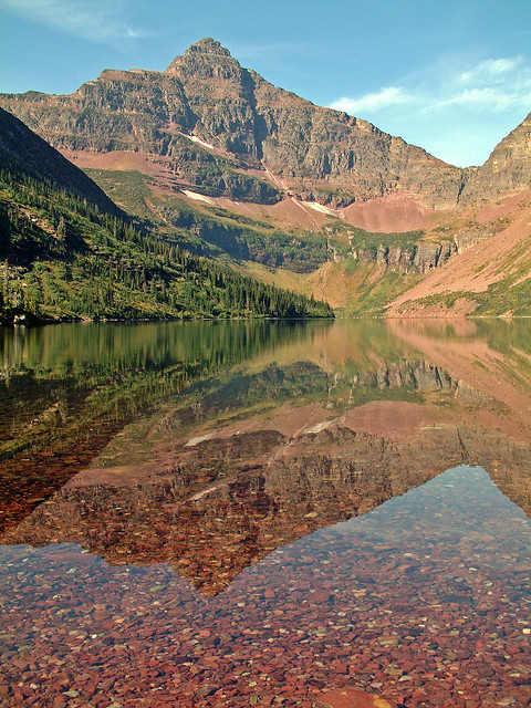 Upper Two Medicine Lake, Glacier National Park