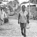 Walking on the Street - Trinidad, Cuba