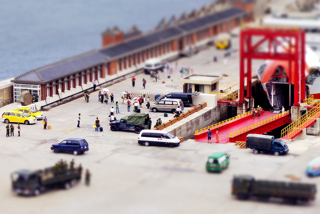 Tilt-shift ? Jhongjhu Port