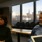 Doc Searls and Maria Thomas at NPR