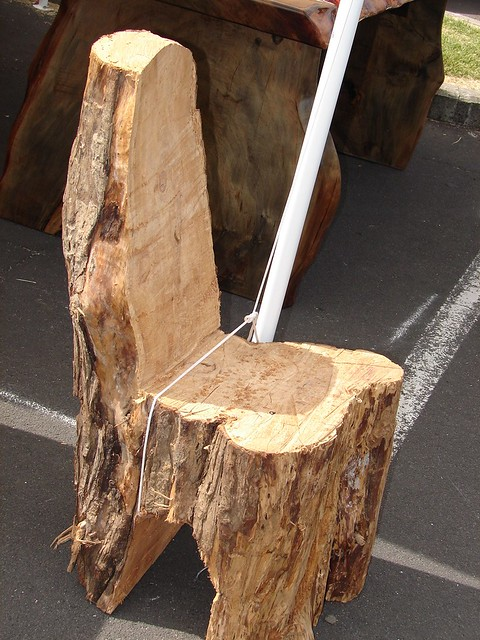 Tree Stump Chair Flickr Photo Sharing
