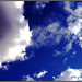 Blue Sky and Clouds by Hvnly