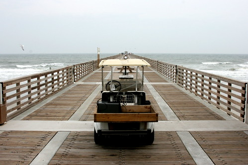 The Jacksonville Beach Fishing Pier