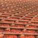 Bleacher Seats, Red Rocks Amphitheatre, Denver, Colorado