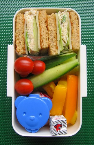 Sandwich lunch for toddler