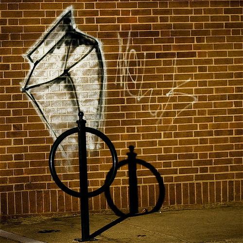 streetart brick art wall geotagged mural grafitti 5 tag tagged bikepole milkcarton chalked supershot horsetie aplusphoto platinumheartaward geo:lat=380362 geo:lon=8449306 jasonpresser bestofformyspacestation