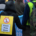 Anti-fracking campaigner Tina Louise Rothery's court case in Preston protest - 3