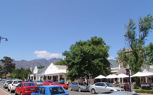 Franschhoek village