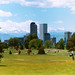Denver Skyline from City Golf Course