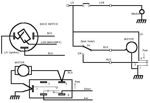 windscreen wiper park switch - series forum - lr4x4
