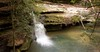 Lower Falls Pool (Caney Creek) by K. W. Sanders