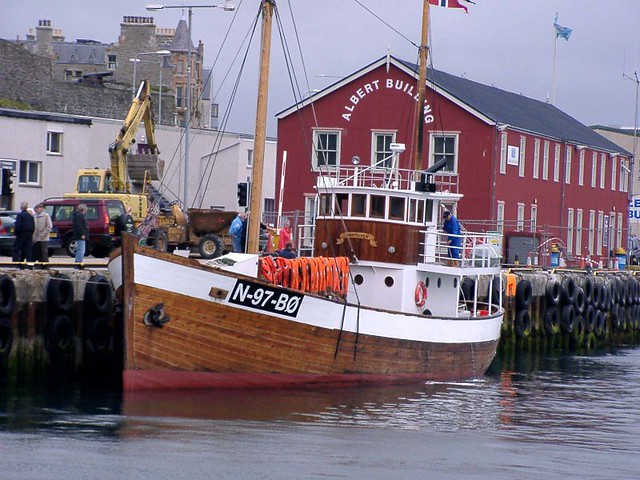 "Andholmen Fishing Boat involved in the ""Shetland Bus"" | Flickr - Photo ... Boat"