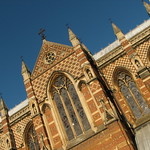 Keble College chapel exterior