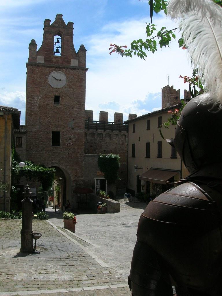 gradara italie château