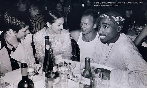 Ingrid Madonna Sting and Tupac