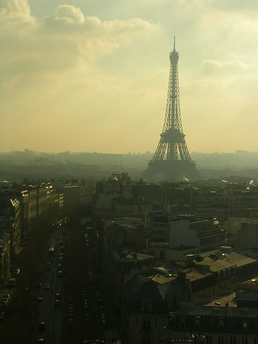 Paris - Tour Eiffel from Arc de Triomphe
