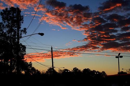 morning blue sky orange sunrise catchycolors landscape batonrouge mrgreenjeans gaylon canonef28135mmf3556isusm redsticklive gaylonkeeling