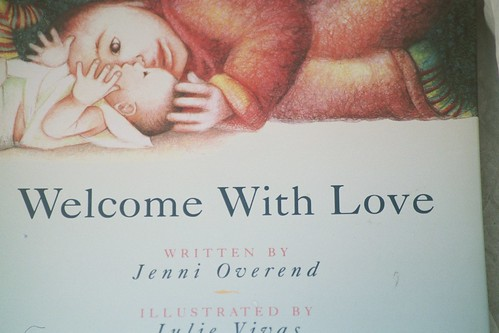 welcome with love, the best picture book on childbirth imo