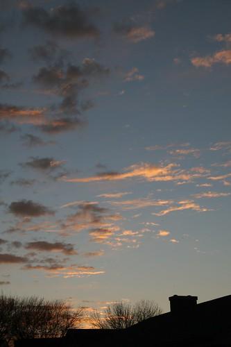 sky orange view waco