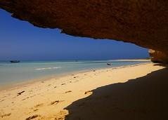 Beach on Dahlak islands, Eritrea