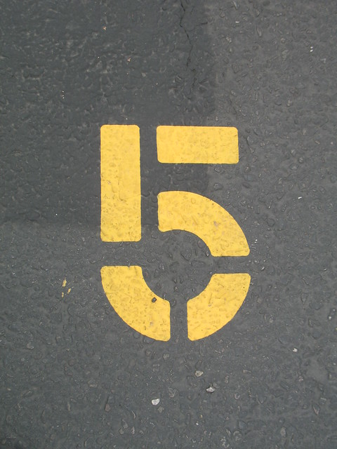 5 from Flickr via Wylio