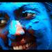 Blue Face by Helene Moreau